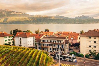 Immobilienpreise in der Region Genfersee