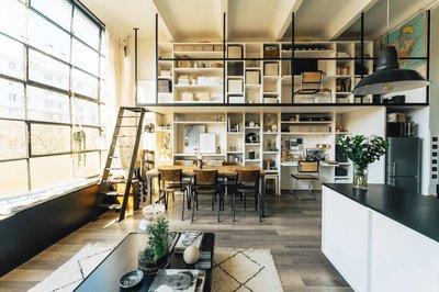 Interior of elegant house Swiss Lookmove