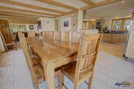 Exceptional chalet with an unique view in Haute-Nendaz! 1/5