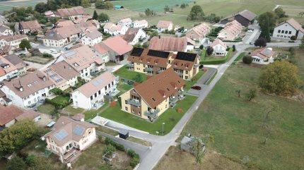 A Vendre Duplex 5.5 pièces à Belmont-sur-YverdonMagnifique duplex en PPE de 5.5 pièces dans les combles 1/5